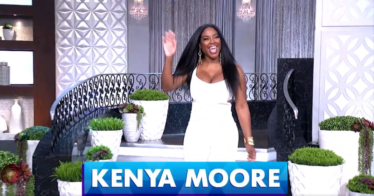 Wednesday on 'The Real': Harvey Levin, Kenya Moore