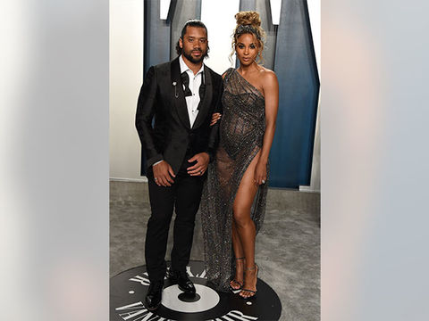 Ciara Bares Baby Bump in Sexy Sheer Dress!