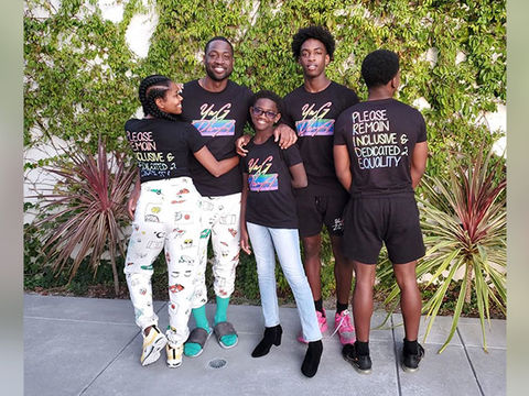 Dwyane Wade's Eldest, Zaire, Writes Touching Message to His Transgender…