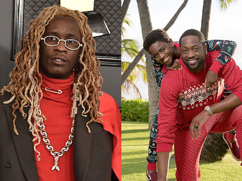 Young Thug Slammed for 'Transphobic' Tweet About Dwyane Wade's Daughter…