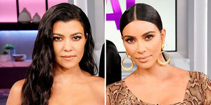 Kim & Kourtney Kardashian Get Physical in Explosive 'KUWTK' Trailer!…