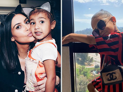 Kim Kardashian Clears Up Claim That Daughter North West Copied ZaZa at Yeezy…