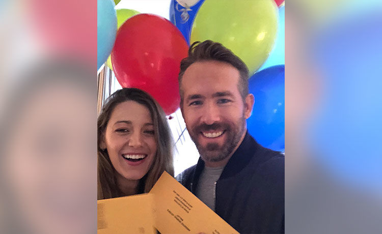 Ryan Reynolds & Blake Lively Donate $1M to Food Banks Amid Coronavirus Pandemic