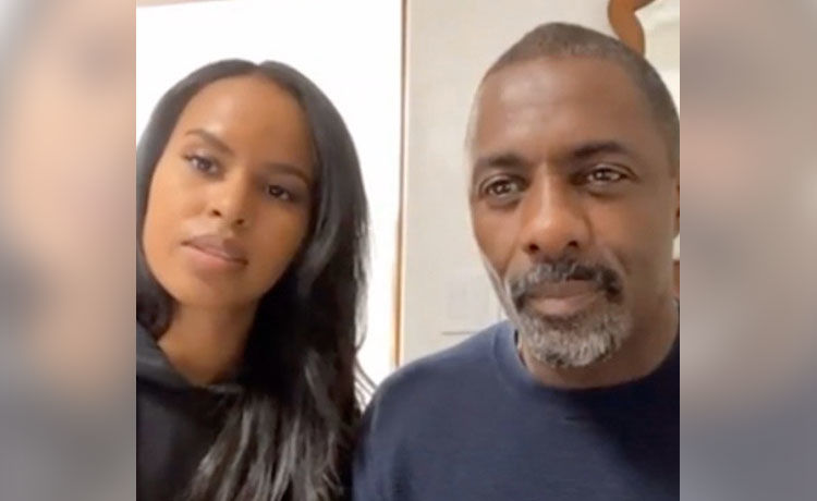 Idris Elba's Wife Sabrina Tests Positive for COVID-19, Defends Being by Husband's Side