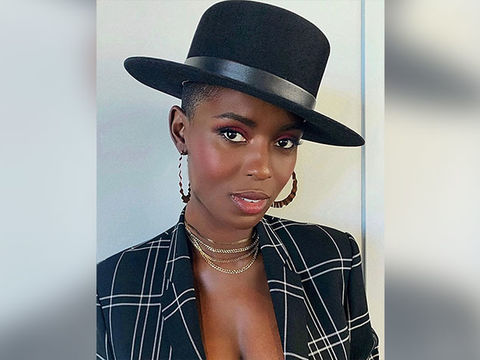 Jodie Turner-Smith Bares Burgeoning Baby Bump Ahead of Due Date!