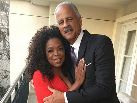 Oprah Says Stedman Is Quarantining in Their Guest House!