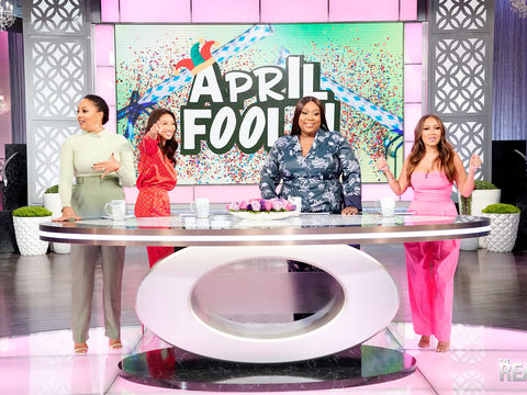 The Hosts of 'The Real' Get April Fooled by the Audience and the Crew!