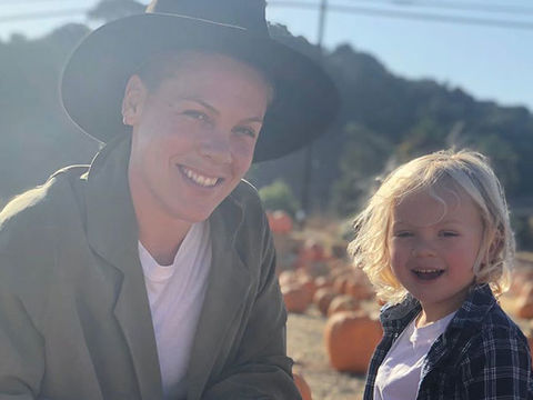 Pink Details Her & 3-Year-Old Son's Health After They Began 'Showing…