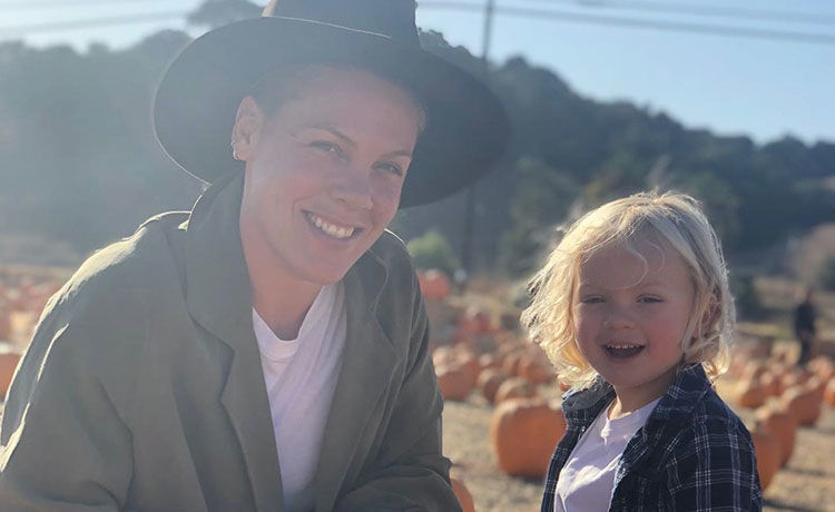 Pink Details Her & 3-Year-Old Son's Health After They Began 'Showing Symptoms of COVID-19'