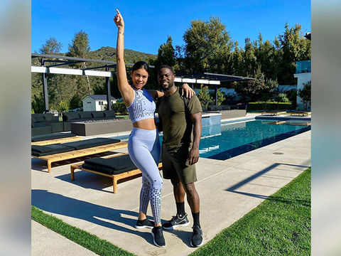 Kevin Hart & Pregnant Wife Eniko Do 'Thriller' Dance While Quarantined!…