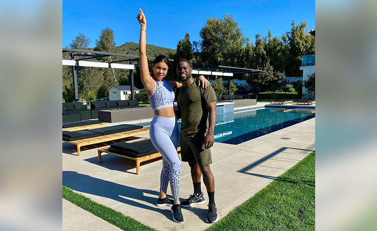 Kevin Hart & Pregnant Wife Eniko Do 'Thriller' Dance While Quarantined! WATCH!