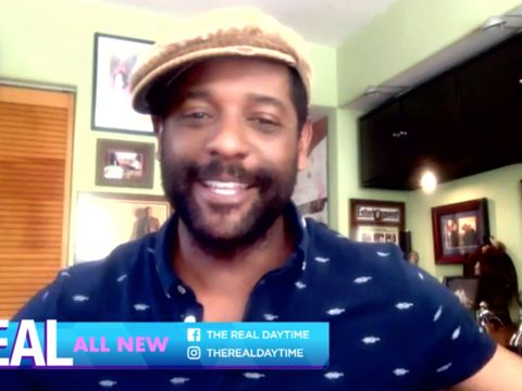 Tuesday on 'The Real': Blair Underwood