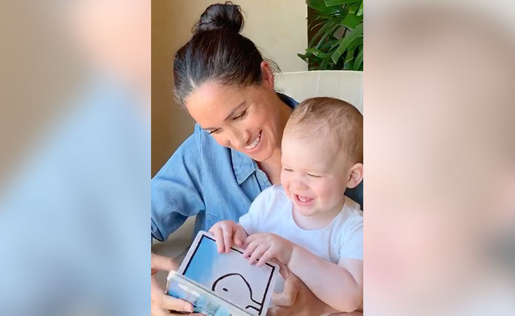 Meghan Markle Reads to Son Archie in Honor of His 1st Birthday!