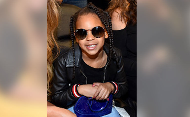 The Beyhive Is Convinced Blue Ivy Crashed Ms. Tina's Mother's Day Video! WATCH!
