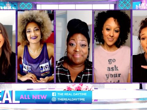 Monday on 'The Real': Yvette Nicole Brown