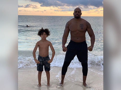 Former WWE Wrestler Shad Gaspard Missing After Beach Swim