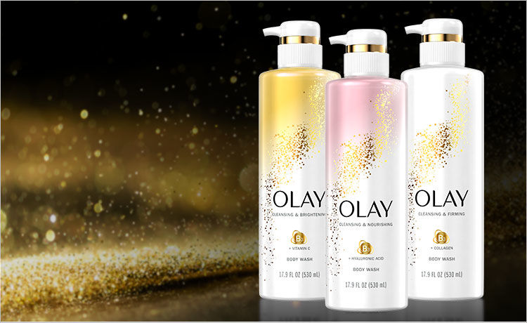Visibly Healthier Skin in Just 14 Days with Olay Skin Care Inspired Body Washes