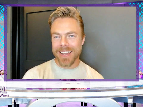 How Derek Hough Is Spending His Time During Quarantine