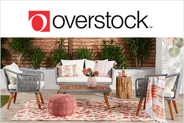 Refresh Your Space with Overstock! Enter for a Chance to Win a $100 Gift Card!