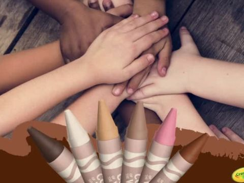 Crayola Unveils New Crayons to Reflect Diverse Skin Tones!