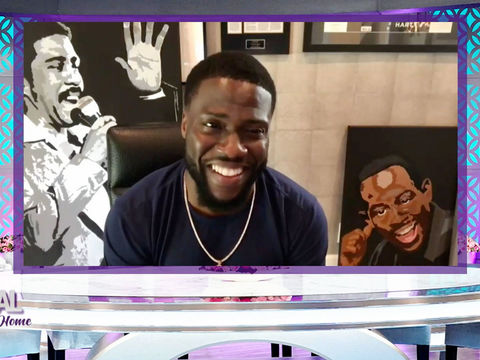 Kevin Hart Took a Nasty Fall While Quarantining at Home!
