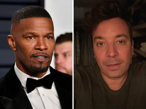 Jamie Foxx Defends Jimmy Fallon After 'SNL' Blackface Sketch Resurfaces