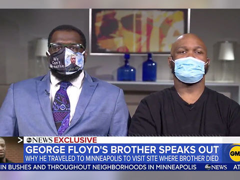 George Floyd's Brother Terrence Says Violence Is 'Overshadowing What's…