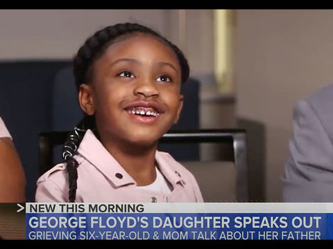 Gianna Floyd, 6, Says She Misses Her Dad George Floyd in Heartbreaking New…