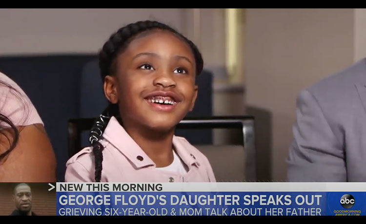 Gianna Floyd, 6, Says She Misses Her Dad George Floyd in Heartbreaking New Interview