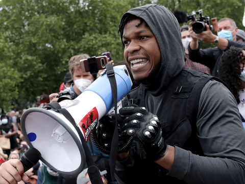 John Boyega Gives Impassioned Speech at London Protest — WATCH!