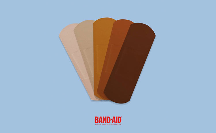 Band-Aid to Release New Line Reflecting Different Skin Tones