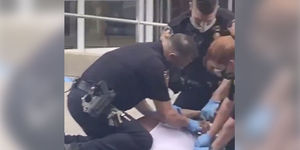 Video of Pennsylvania Cop Pinning Knee on Man's Neck Prompts Investigation