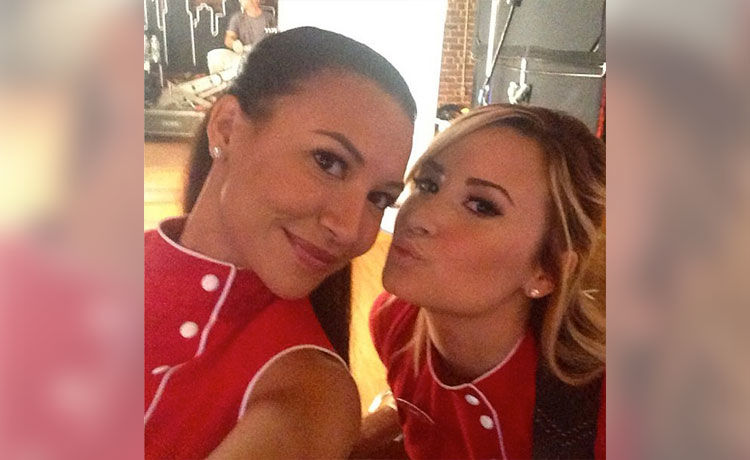 Demi Lovato Remembers 'Glee' Co-Star Naya Rivera