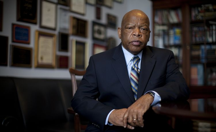 Congressman John Lewis Laid to Rest in Atlanta