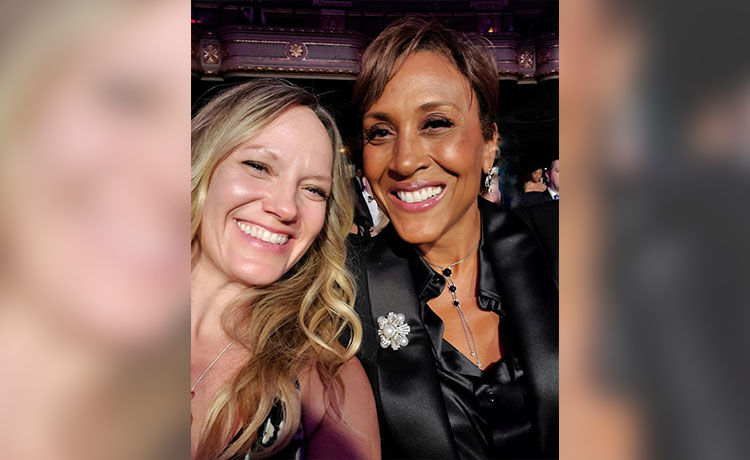 Robin Roberts & Partner Amber Laign Celebrate 15 Years Together