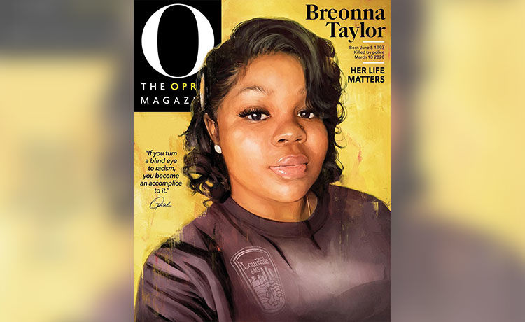 Breonna Taylor Honored with Historic O Magazine Cover