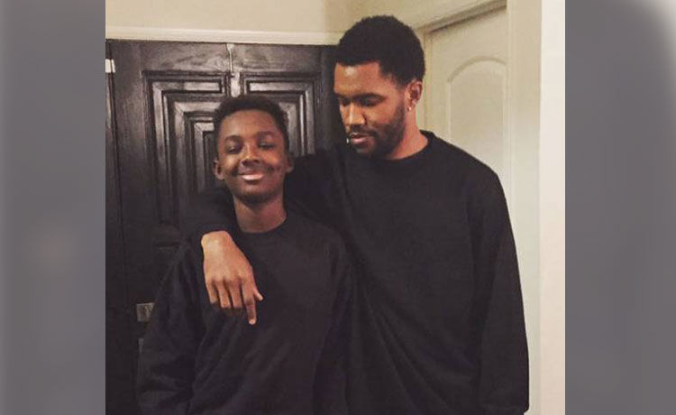 Frank Ocean's Brother Ryan Breaux Dead at 18 After Car Crash