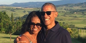 Michelle Obama Celebrates Husband Barack's 59th Birthday with Sweet Throwback…