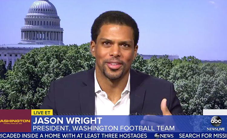 Jason Wright Is the First Black Team President in NFL History