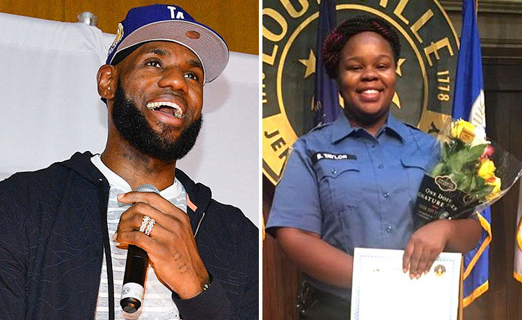 LeBron James Demands Justice for Breonna Taylor at Lakers vs. Trail Blazers Game