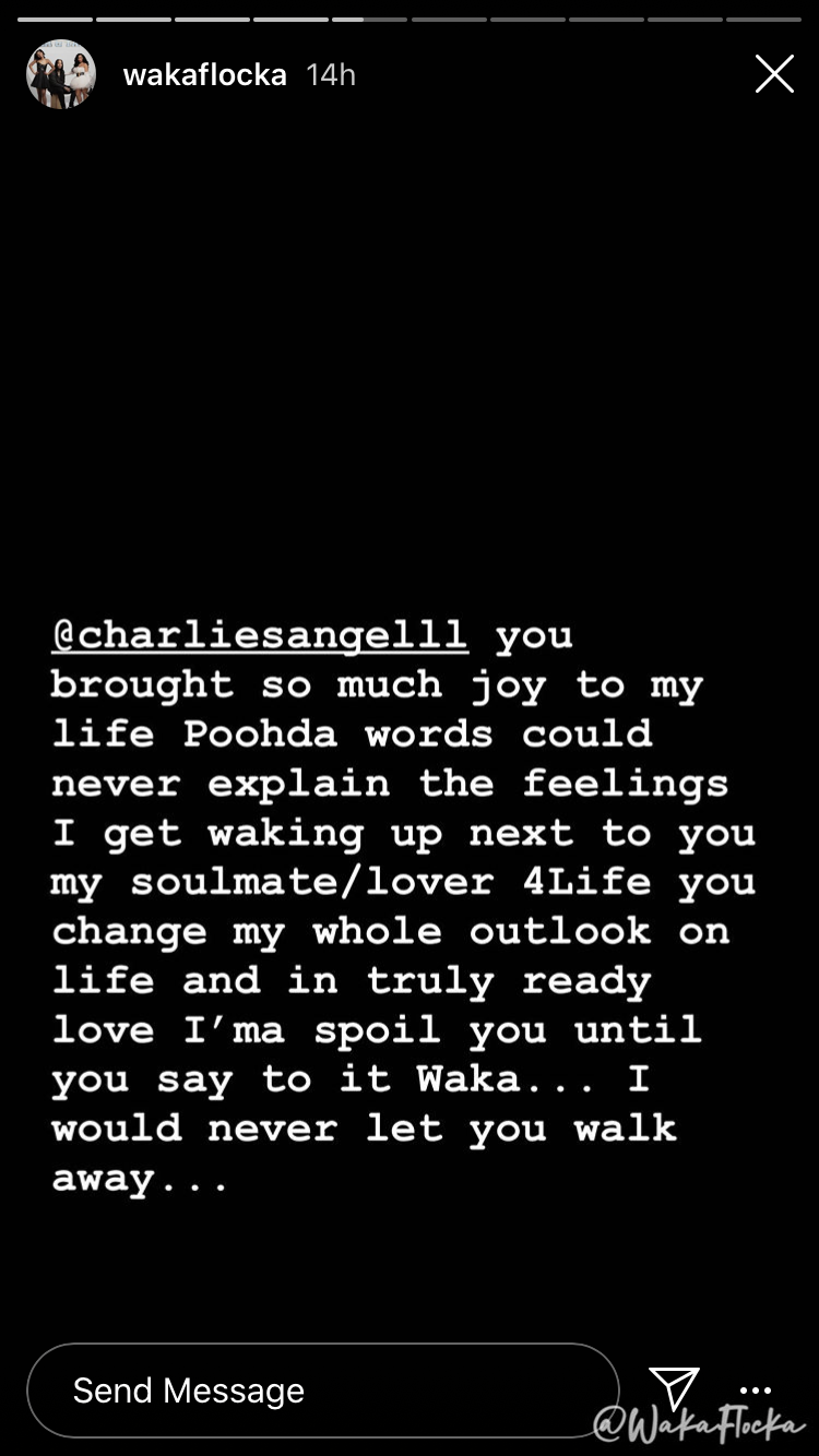 Waka's message to Tammy!