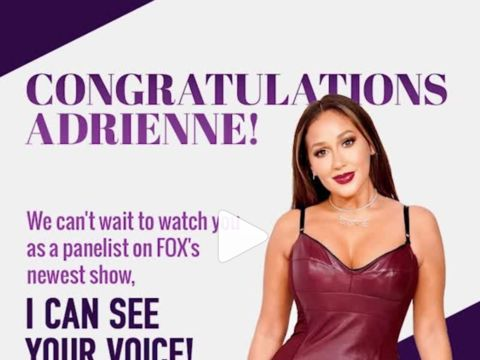 Get ready for our girl @adriennebailon as a panelist on Fox's newest show…