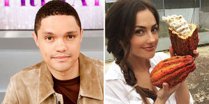 'Very Happy' Trevor Noah & Minka Kelly Are Dating!