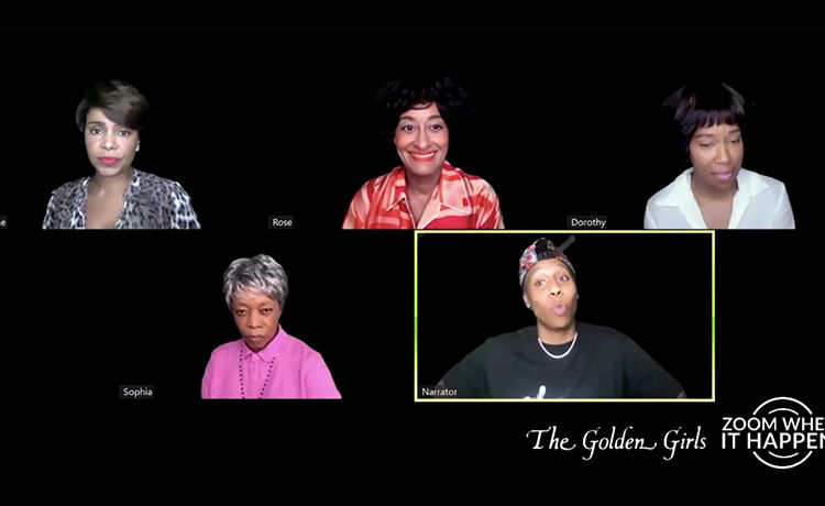 Regina King, Tracee Ellis Ross & More Star in All-Black 'Golden Girls' Table Read!