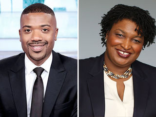 Ray J, Stacey Abrams