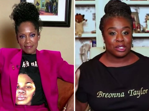 Regina King & Uzo Aduba Honor Breonna Taylor During Emmys Acceptance…