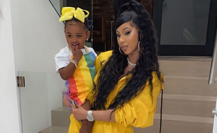 Cardi B's Daughter Has Nearly 1M IG Followers Days After Debut!