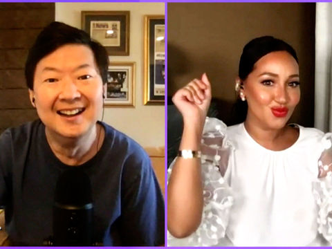 Adrienne Confesses — She Knows Where Ken Jeong Lives!