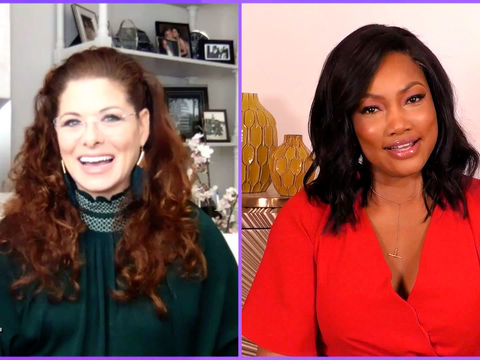 Debra Messing Has Some Questions for Garcelle About 'RHOBH'!