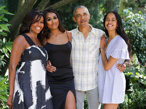 Barack Obama Gushes About Wife Michelle & Their Daughters in Revealing New…